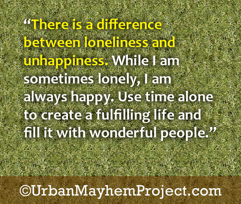 Loneliness and unhappines