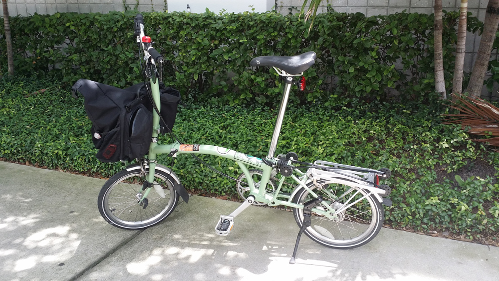 A Brompton kickstand: this changes everything