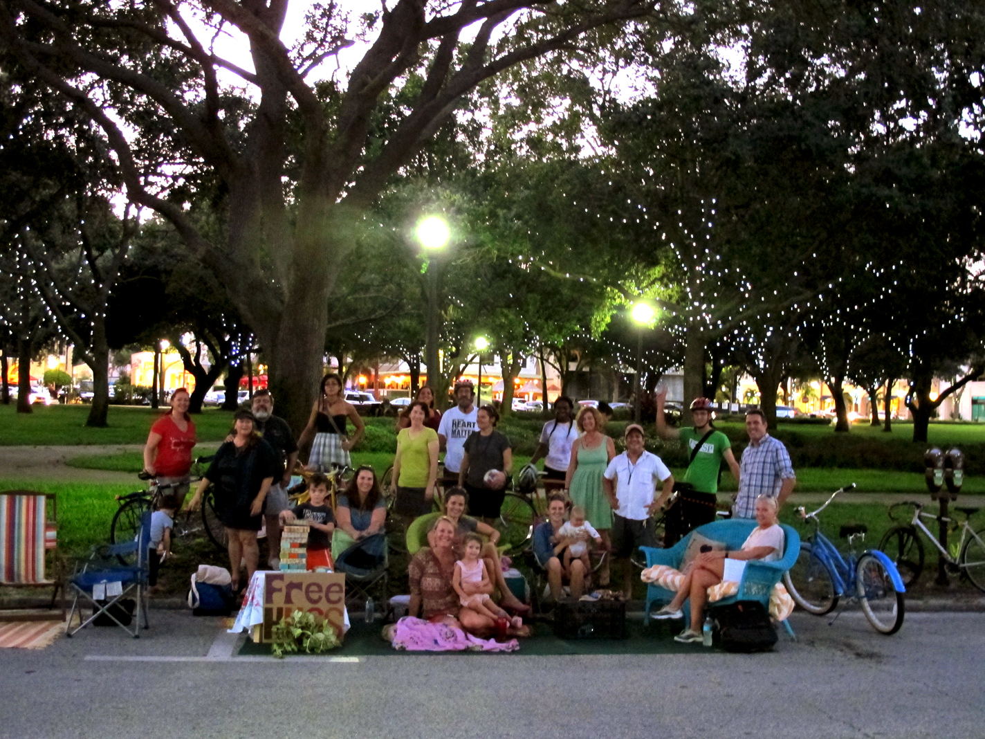 International PARK(ing) Day in St. Pete