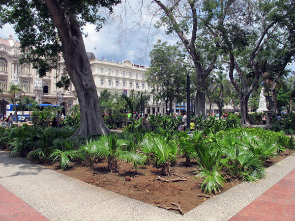 Public spaces in Havana Cuba