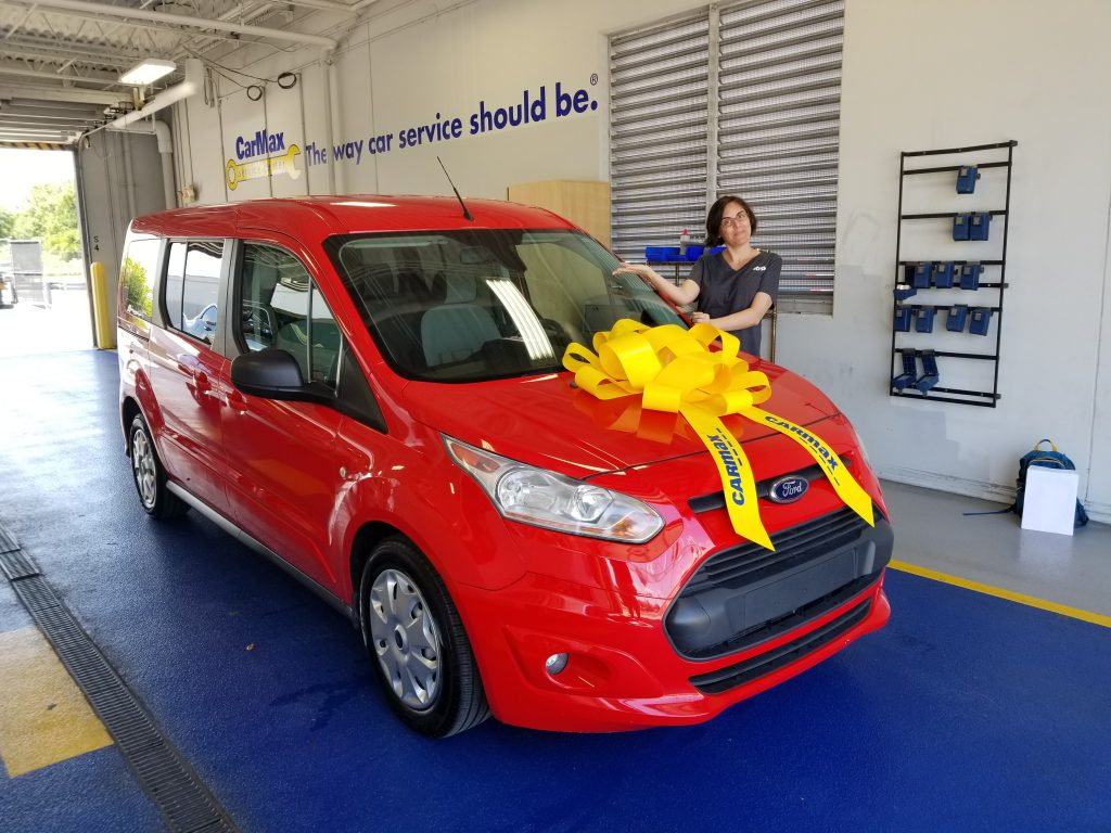 2014 Ford Transit Connect wagon from CarMax