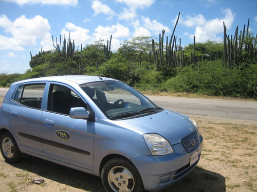 Small cars on Bonaire