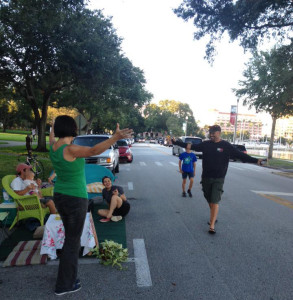 Free hugs in St. Pete, FL