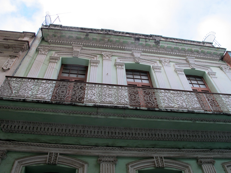 Beautiful buildings in Havana