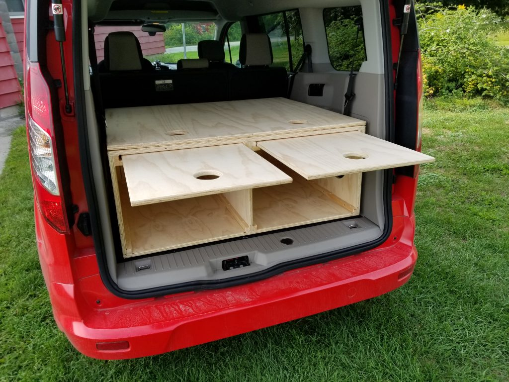 Ford Transit Connect RV conversion